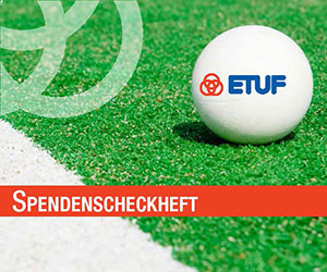 ETUF Hockey Spendenscheckheft